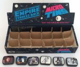 Vintage Star Wars ESB Micro Tin Set & Shop Display Box 1980